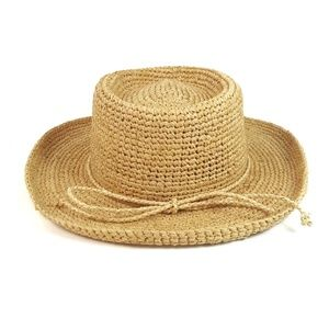 Scala Studio Woven Straw Big Brim Summer Hat